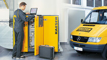 KAESER full service agreement: Inspection, maintenance, monitoring and documentation